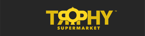 Trophy Supermarket Branding Mark